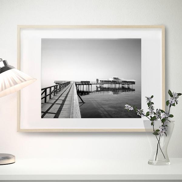HOVSTA Frame, birch effect, 50x70 cm