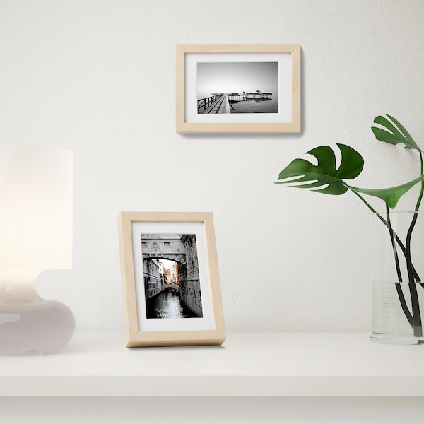 HOVSTA Frame, birch effect, 10x15 cm