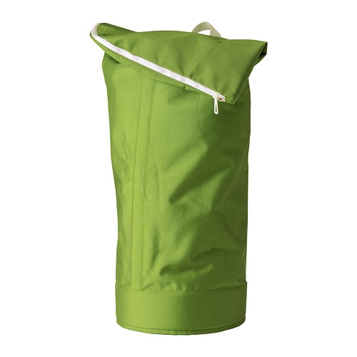 HUMLARE Waste sorting bag IKEA This bag can be carried in different ways, by the handle or like a backpack.