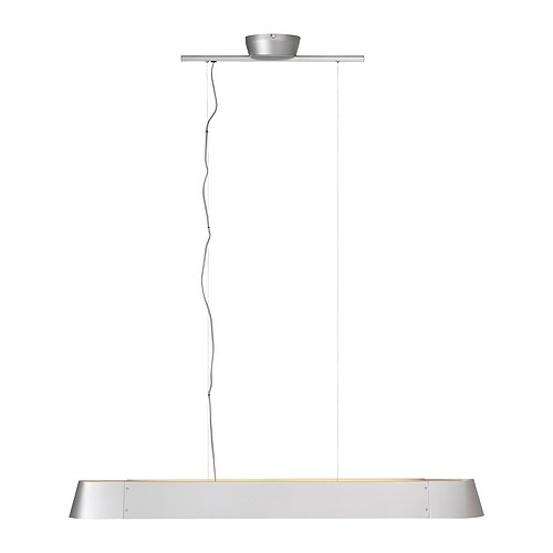 HUSVIK Pendant lamp IKEA Gives a directed light; good for lighting up for example dining tables or bar tops.