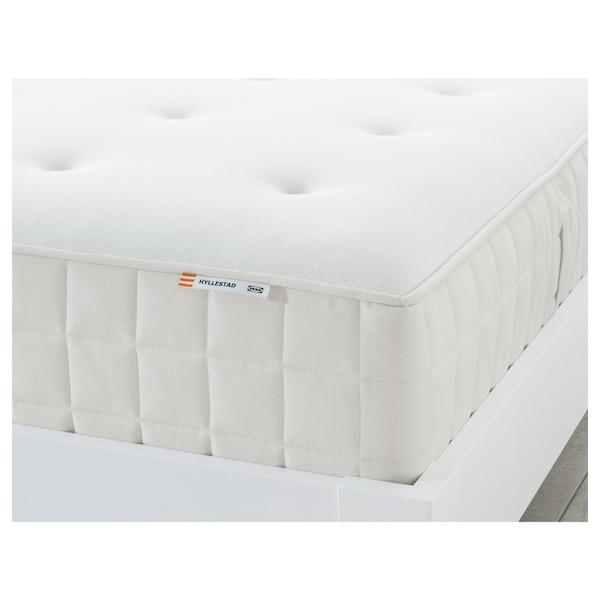 HYLLESTAD Pocket sprung mattress, firm/white, Single