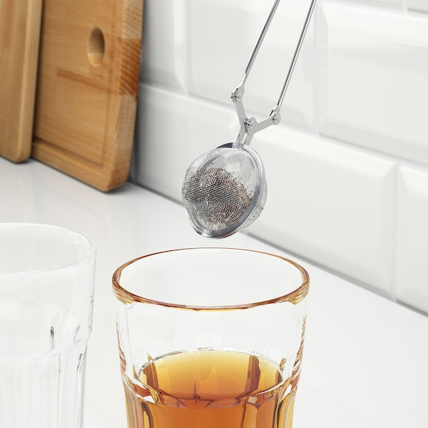 IDEALISK tea infuser stainless steel 15 cm