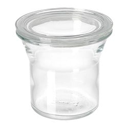 IKEA 365+ jar with lid, glass