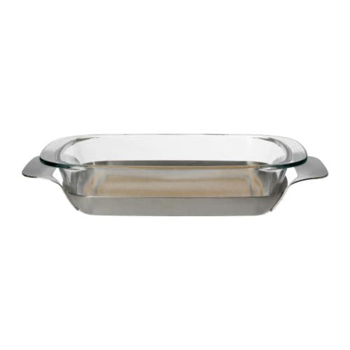 IKEA 365+ Oven/serving dish with holder IKEA The metal holder can be used for serving as well.