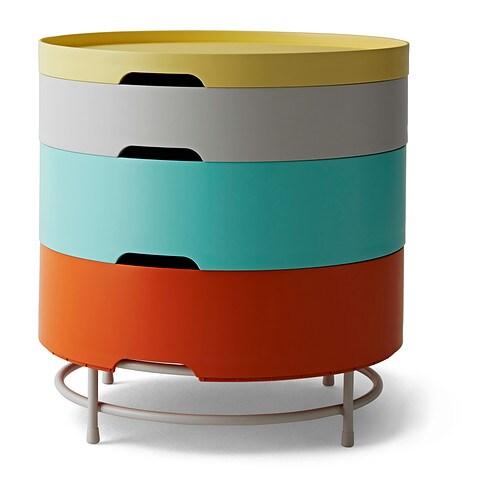 ikea ps 2014 storage table multicolour ikea. Black Bedroom Furniture Sets. Home Design Ideas