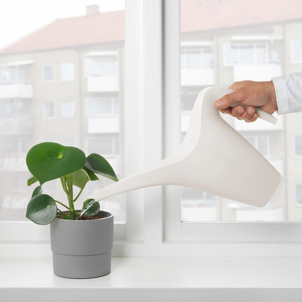 IKEA PS 2002 Watering can, white, 1.2 l