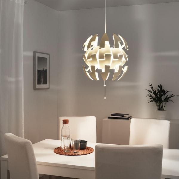 IKEA PS 2014 pendant lamp white 13 W 35 cm 150 cm