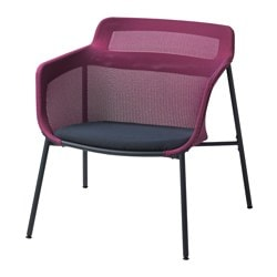IKEA PS 2017 armchair, pink, blue