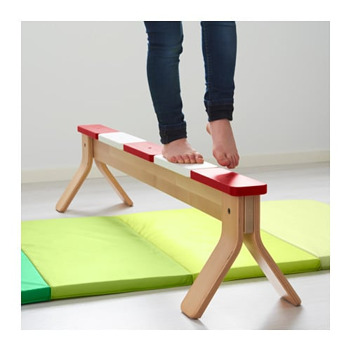 IKEA PS 2014 Balancing bench IKEA Helps your child to develop coordination, balance and concentration.