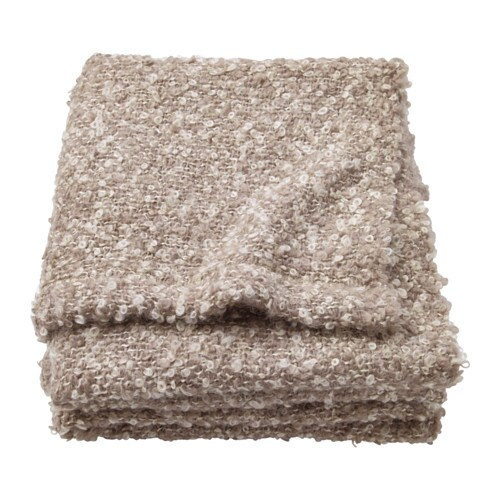 IKEA STOCKHOLM Throw IKEA Mohair wool with a silky lustre.