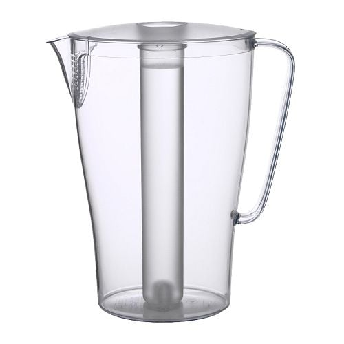 IMPULS Jug with lid IKEA Removable insert that withstands freezing; keeps drinks cold longer.