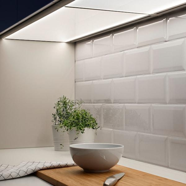 IRSTA LED worktop lighting, opal white, 80 cm