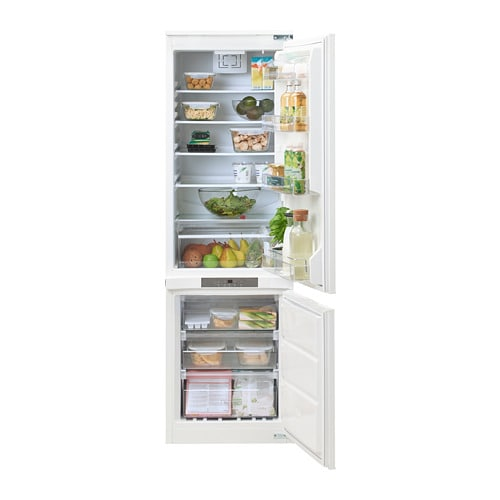 isande integrated fridge freezer ikea. Black Bedroom Furniture Sets. Home Design Ideas