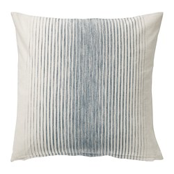 ISPIGG cushion cover, blue/natural