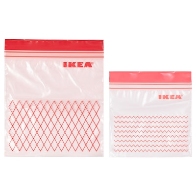 ISTAD Resealable bag, red