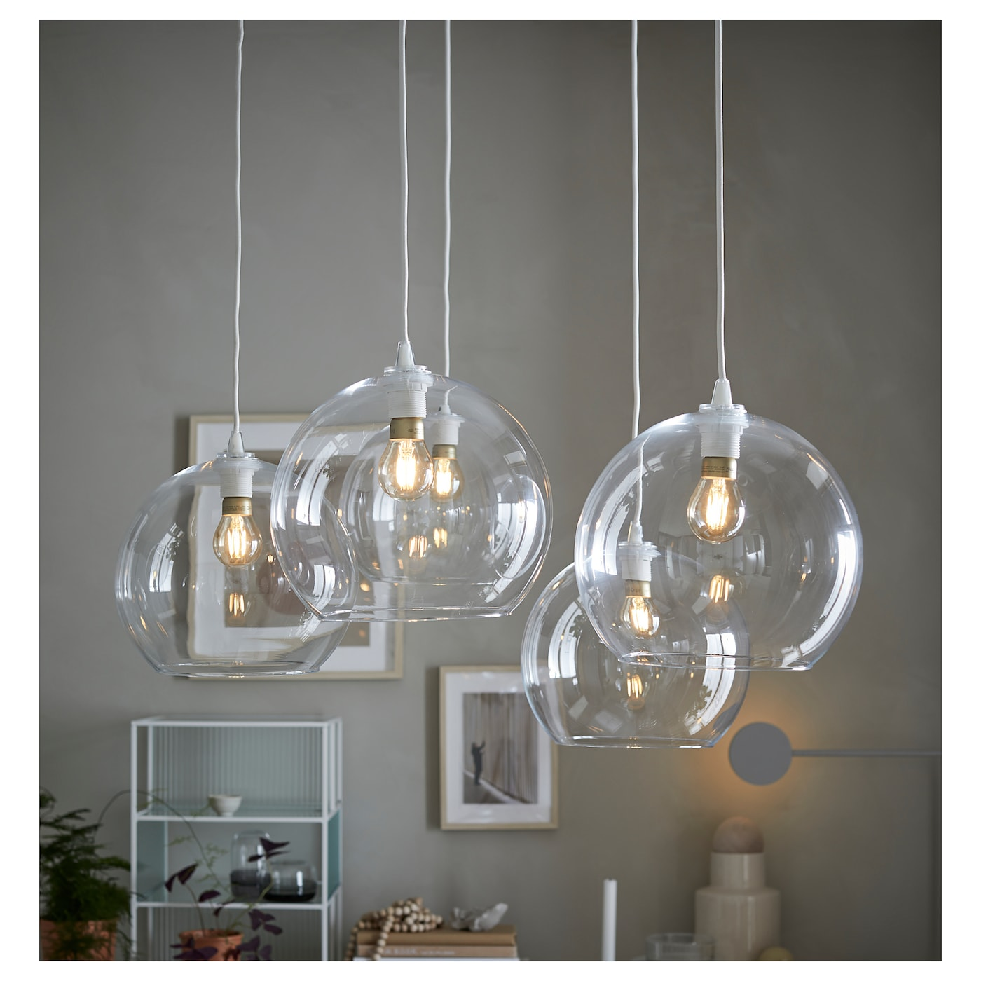 Jakobsbyn Pendant Lamp Shade Clear Glass Ikea