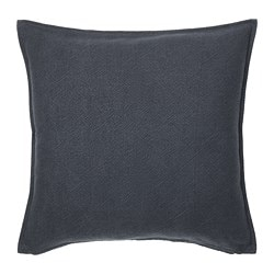 JOFRID cushion cover, dark blue-grey