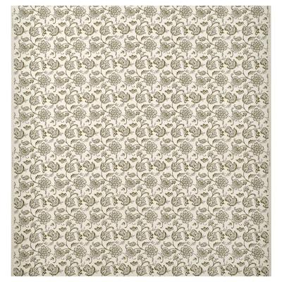 JUNIMAGNOLIA Fabric, natural/green, 150 cm