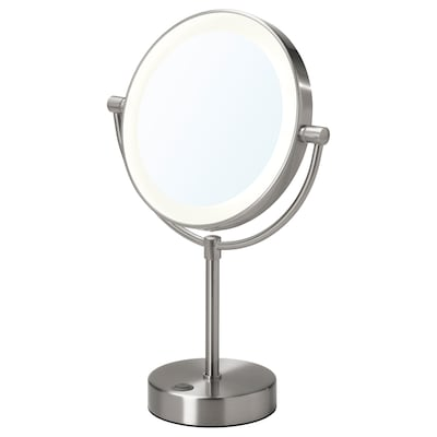 KAITUM Mirror with integrated lighting, 20 cm