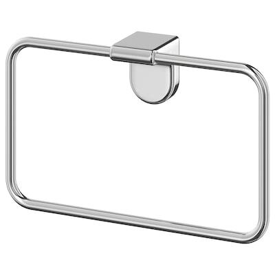 KALKGRUND Towel hanger, chrome-plated