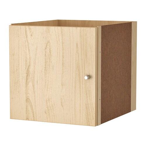 KALLAX Insert With Door Birch Effect IKEA
