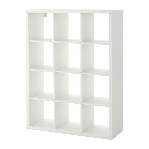 kallax shelving unit white ikea