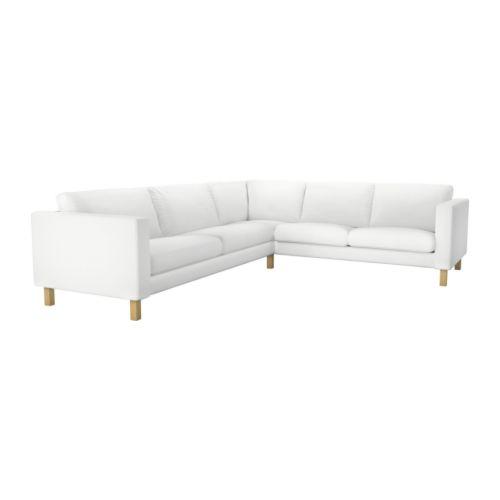 Karlstad Corner Sofa 2 3 3 2 Blekinge White Ikea