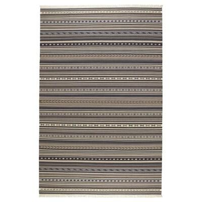 KATTRUP rug, flatwoven handmade grey 300 cm 200 cm 4 mm 6.00 m² 1150 g/m²