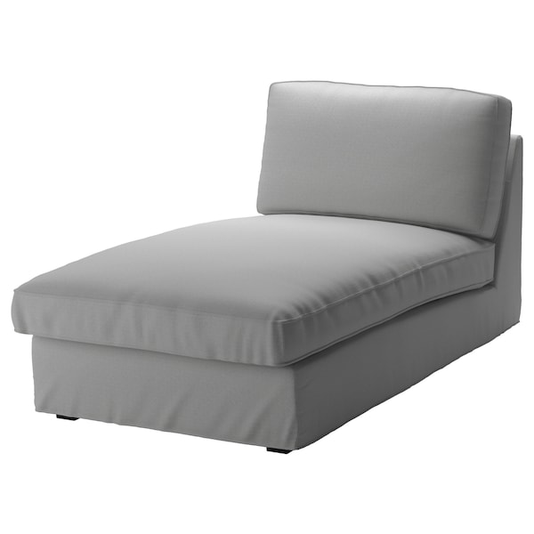 Chaise Lounge Chair.Kivik Cover For Chaise Longue Orrsta Light Grey Ikea