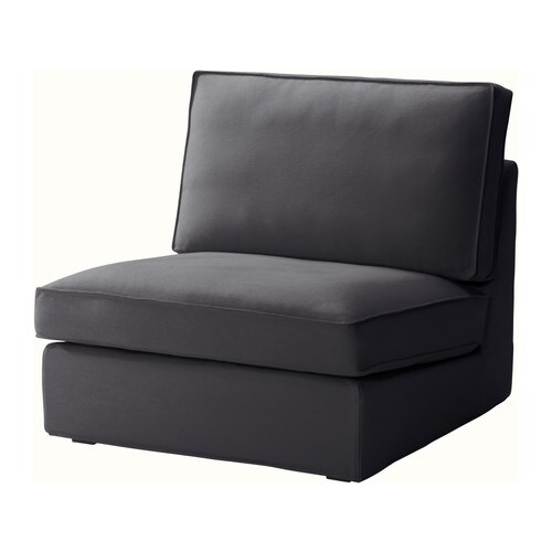 KIVIK One-seat section cover IKEA The cover is easy to keep clean as it is removable and can be machine washed.