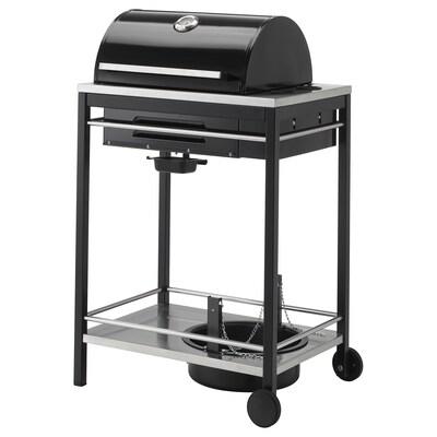 KLASEN Gas barbecue, black