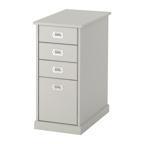 KLIMPEN Drawer unit IKEA Can be placed in the middle of a room because the back is finished.