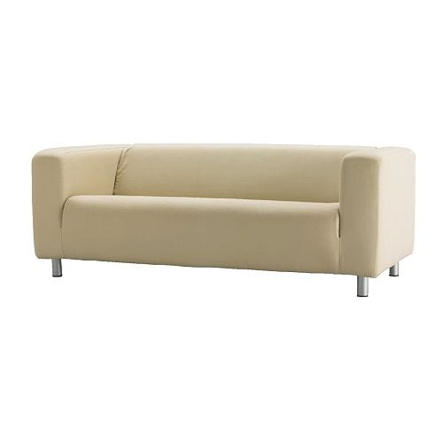 KLIPPAN Cover two-seat sofa IKEA Easy to keep clean; removable, machine washable cover.