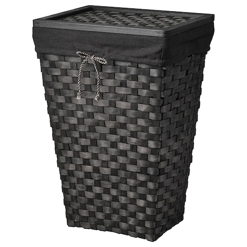 IKEA KNARRA Laundry basket with lining