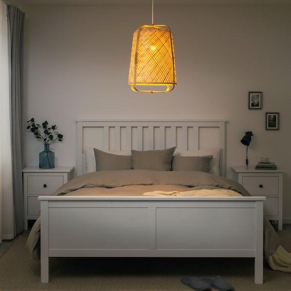 KNIXHULT Pendant lamp, bamboo