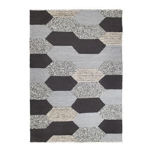 kollund rug flatwoven handmade grey length 240 cm width 170 cm area