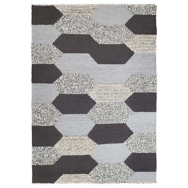 Kollund Rug Flatwoven Handmade Grey