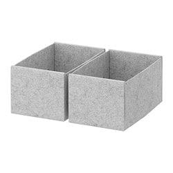 KOMPLEMENT box, light grey