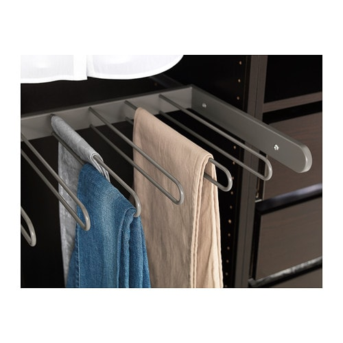 komplement pull out trouser hanger 100x35 cm ikea. Black Bedroom Furniture Sets. Home Design Ideas