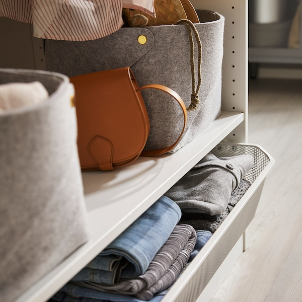 KOMPLEMENT Shelf, white, 75x58 cm