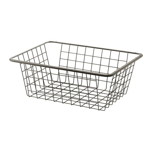 komplement wire basket with pull out rail 50x35 cm ikea. Black Bedroom Furniture Sets. Home Design Ideas