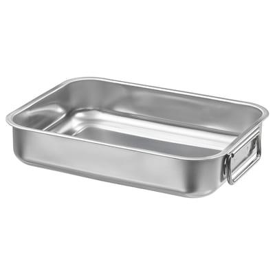 KONCIS Roasting tin, stainless steel, 26x20 cm