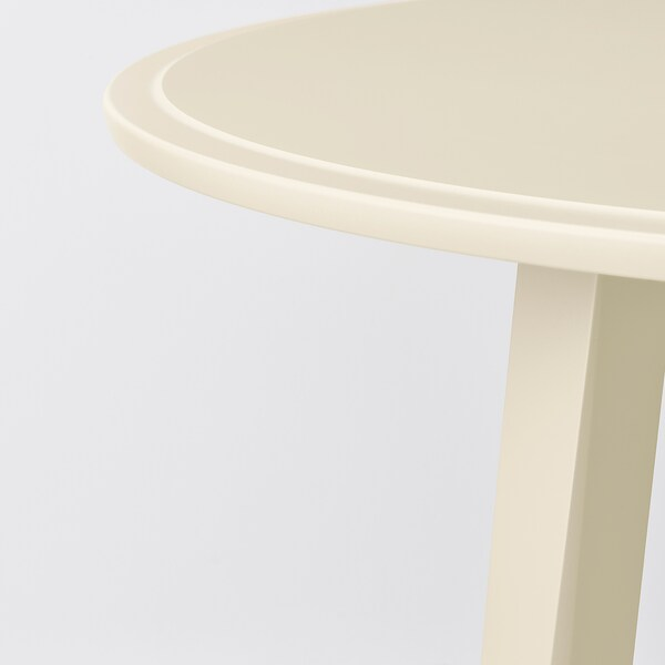 KRAGSTA Coffee table, light beige, 90 cm
