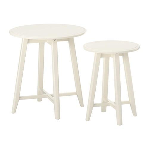 KRAGSTA Nest Of Tables, Set Of 2