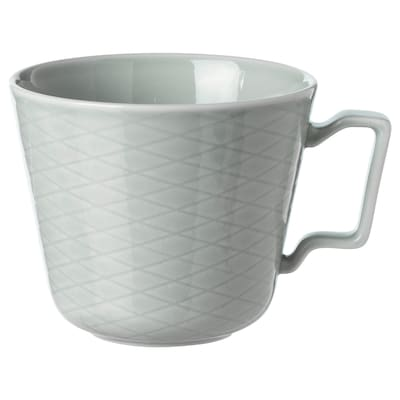 KRUSTAD Mug, light grey, 40 cl