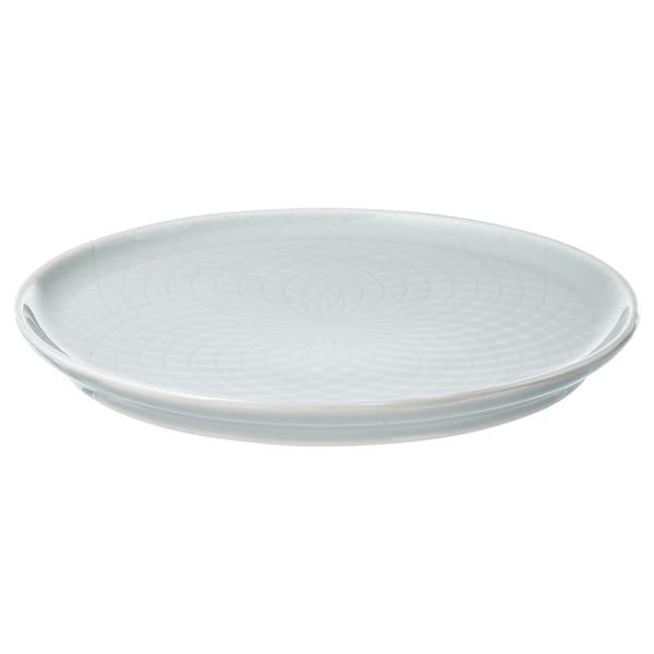 KRUSTAD side plate light grey 16 cm
