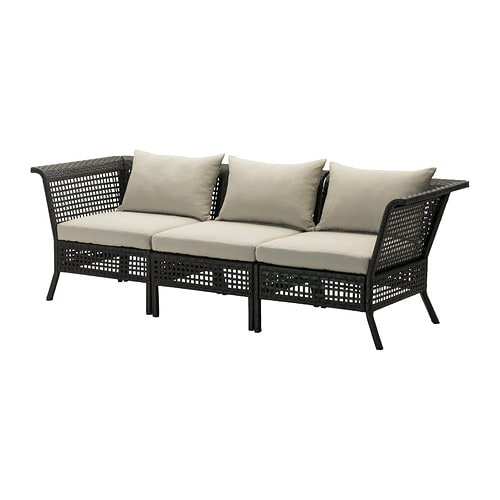 Kungsholmen H 197 Ll 214 3 Seat Sofa Outdoor Ikea