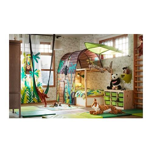 Letto Kura Ikea.Kura Reversible Bed White Pine