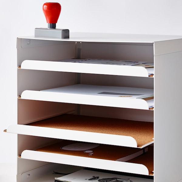 KVISSLE Letter tray, white