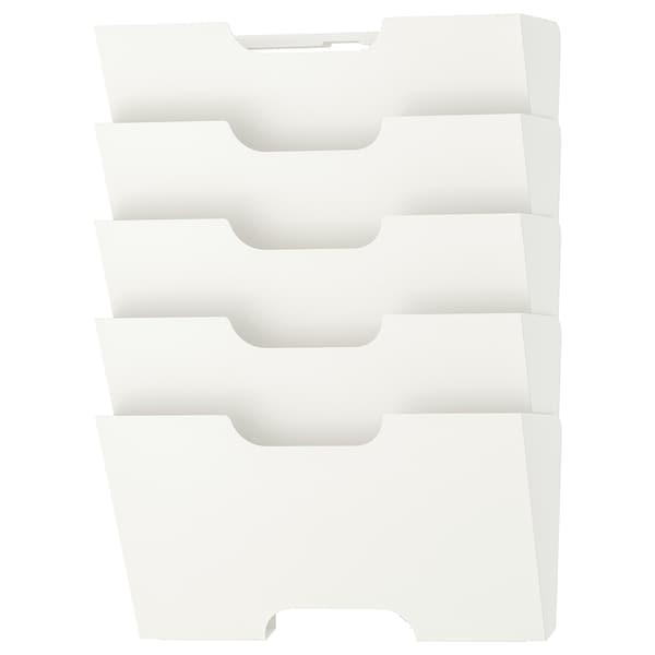 KVISSLE Wall newspaper rack, white